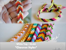 Chevron Styles (Double Thread) by knotsforhope