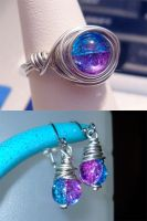 Wire Wrapped Set 1 by ChibiKinesis