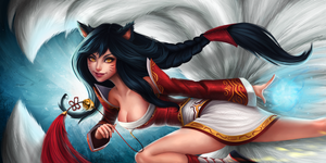 Ahri by mi-lann