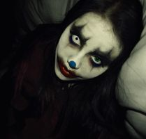 Clown Make-up - Stock by KikiMJ
