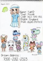 Animal Crossing NL : Me and my Villagers by Rosesketch