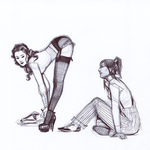 Korrasami Striptease by characterundefined