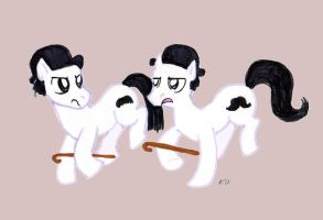 Dupondt ponies by SnappySnape