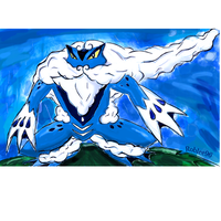 Froakie Evolution Froaking Recolor by roblee96