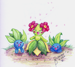 Mama Bellossom with Oddies by BleachedKitten