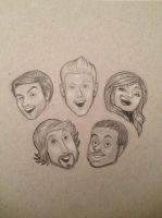 Pentatonix by chennanigan