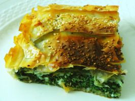Spinach pie... by ANDROXA