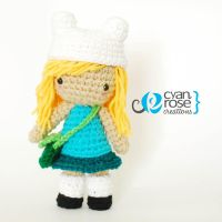 Finn from Adventure Time Inspired Crochet Doll by CyanRoseCreations