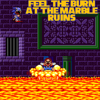 Feel the burn at the Marble Ruins by EXEcutor-The-Bat