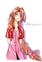 Aerith Gainsborough by charlestanart