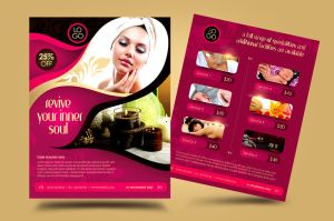 Deluxe Spa Business Promotion Flyer by satgur