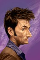 David Tennant by markdraws