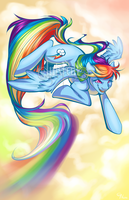 Rainbow Dash by Inkfall