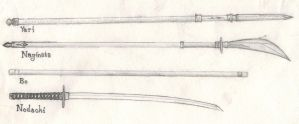 Japanese weapons: 01 by Logovanni