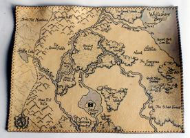Map of Whiteshore Bay : Collaborative COM: by Zeknox