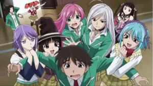 Rosario + Vampire Curo Ending by hybridhedgie