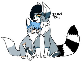 Me And Zak by Collieh