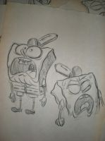 SPONGEBOB!! by brianpitt