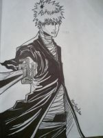Ichigo ink by papabear7