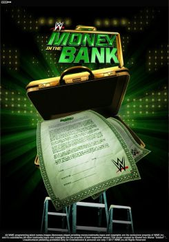 WWE Money In The Bank 2017 Poster by edaba7