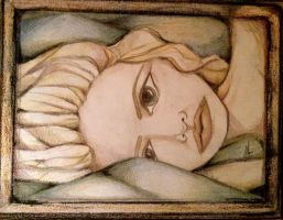 Girl Resting 2009 by Kaayia