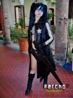 Black Rock Shooter by AnnPoe