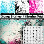41 Grunge Brushes - PS7 by KeepWaiting