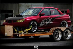 Scooby Impreza- The mean racer by nakata15