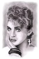Madonna Sketch by NicksPencil