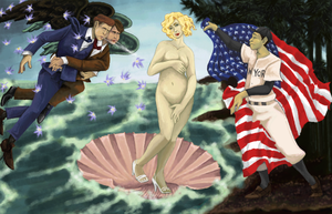 The Birth of Marilyn by JimmytheScratch