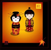 Kokeshi: Momiji by broom-rider