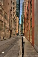 Downtown Street San Francisco by StewartSteve