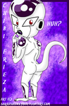 Chibi Frieza says Huh? by Squillarah