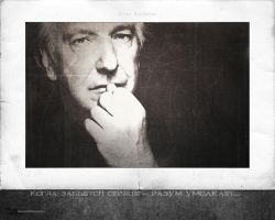 Alan Rickman - wallpaper 4-2 by transparentbird
