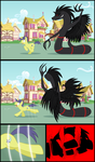 My little pony - the six winged serpent - p12 by Culu-Bluebeaver