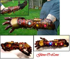 Steampunk Glove-O-Love by Skinz-N-Hydez
