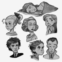 Faces by airefee