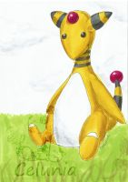 Ampharos by celunia