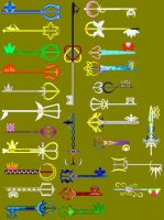 Keyblade Compilation by Ellyon