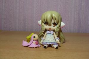 Chii Nendoroid and Atashi by Mako-chan89