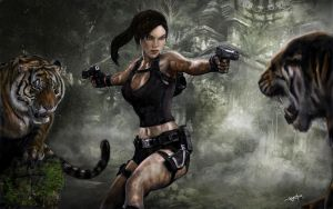 Tomb Raider Underworld by Hax09