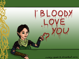 Bloody Merrill by gizemko3