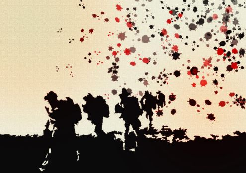 Tribute to the British Army by sam-the-arty-man