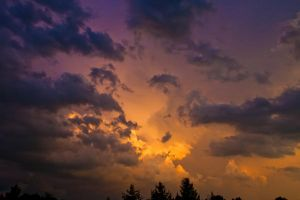 After the Storm sky stock by little-spacey