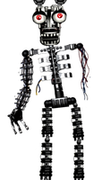 Withered Bonnie's Endoskeleton by A-Battery