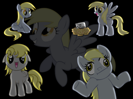 Derpy Hooves background by tehAgg