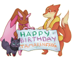 Happy Birthday Tammy by wolfz206
