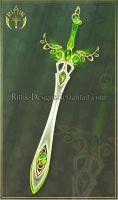 Lucky Sword (CLOSED) by Rittik-Designs