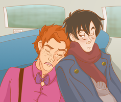 HP: Train Ride by Weasley-Detectives