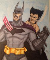Wolverine Shanks the Bat by MikeVanOrden